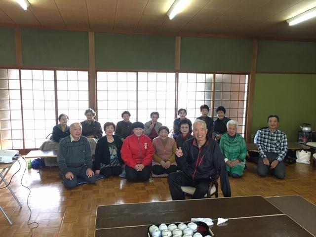 朝倉市 桑原公民館で健康教室を行ないました。